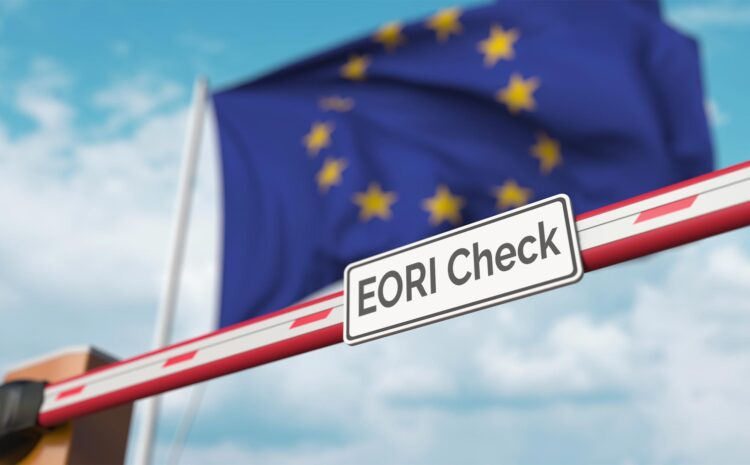 move goods between uk and europe without problems: eori number